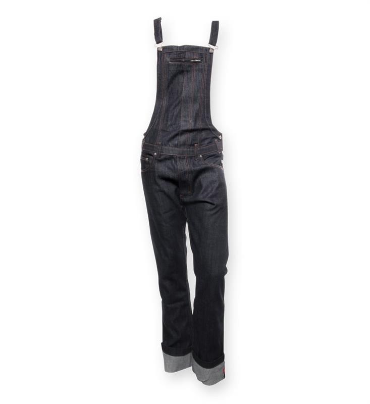 Schönheit Großhandelsverkauf online hier Latzhose Red Selvedge Jeans von King Kerosin / Limited Old Stock