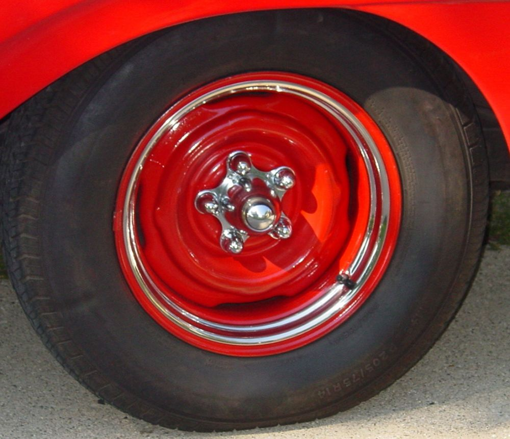 Spider Wheel Caps Set - Ford Type / UP-C8057
