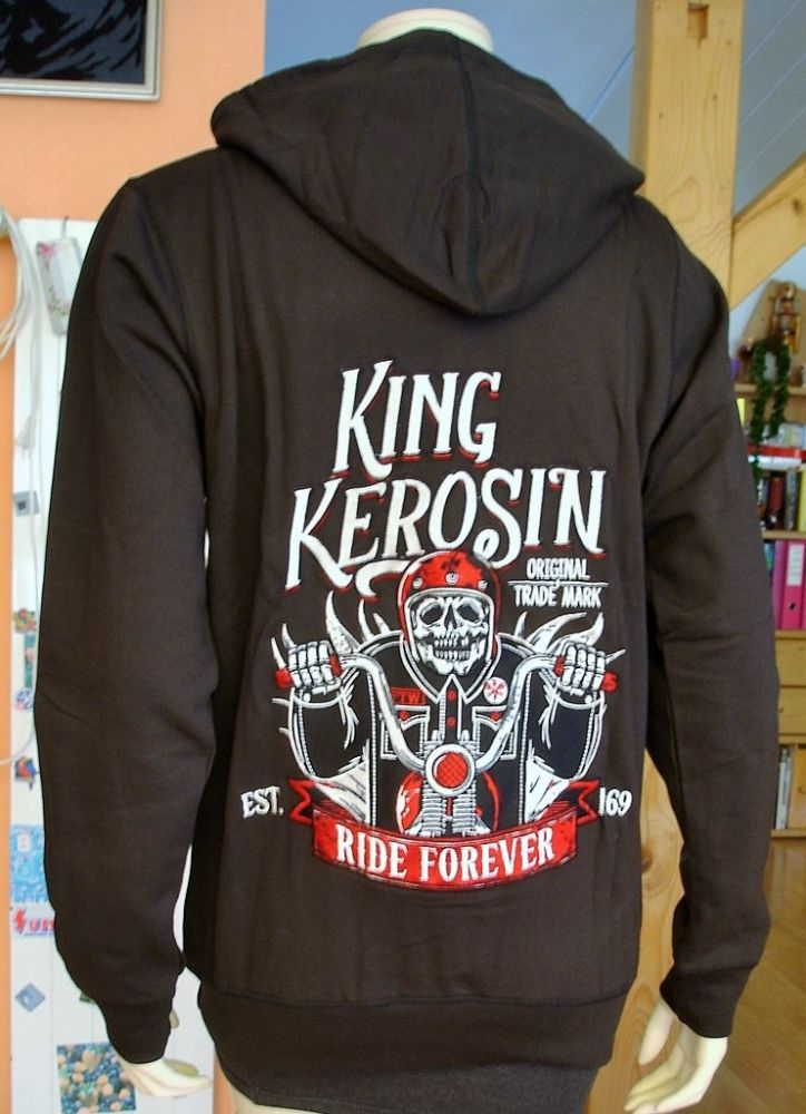 king kerosin hoodie jackets custom hot rod. Black Bedroom Furniture Sets. Home Design Ideas