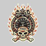 Vince Ray Throttle Sticker VRS28