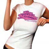King Kerosin Girls T-Shirt - Lkk / weiss