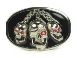 Buckle b-skull chain