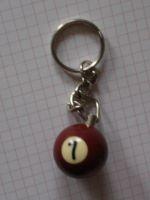 Schlüsselanhänger Billiardkugel PB-07
