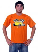 Race Gear T-Shirt Orange - 32 Hot Rod