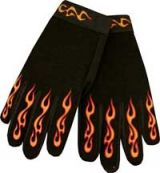 Mechanic Gloves  MG-Gelbe Flamen