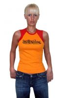 King Kerosin Tank Top - KK / orange-red