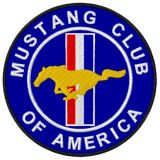 Patch - Mustang