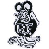 Patch - Ratfink black
