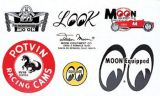 Race Sticker  St - moon002