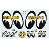 Race Sticker  St - moon001