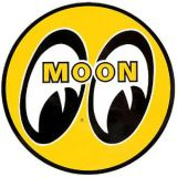 Race Sticker  St - moon XL