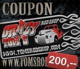 Tom`Rod Shop Gutschein 200 Sfr.