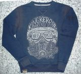 Old School Sweater von King Kerosin / Hell Racer - blau