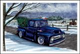 X-Mas Cards Custom Cars  X - 749