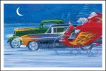 X-Mas Cards Custom Cars  X - 746