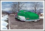 X-Mas Cards Custom Cars  X - 801
