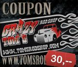 Tom`Rod Shop Gutschein 30  Sfr.