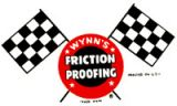 Vintage Race Sticker - Wynn`s