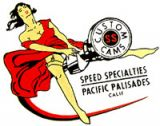 Vintage Race Sticker - Speed Specialties