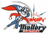 Vintage Race Sticker - Mighty Mallory