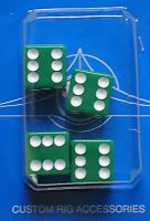 Dice Air Valve Caps - green