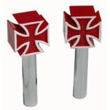 Door Locks -Malteser Cross red