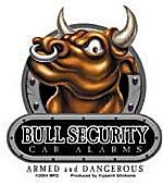 Bull Security Sticker / St-AD 613