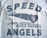 King Kerosin Limited Slub Jersey T-Shirt Tjg6-QGA /Speed Angel