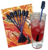 Tikki Cocktail Swizzles Set.