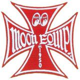 Patch - Moon Equip. Malteser Cross / red