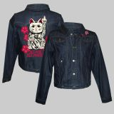 Women Denim Jacke - Cat
