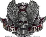 Buckle  - Rebel Rider Biker