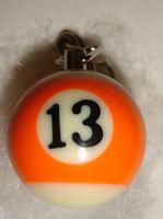 Schlüsselanhänger Billiardkugel PB-13