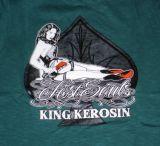 King Kerosin Slub Jersey T-Shirt - Lost Souls/Tjm3-Rns1