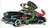Alain Forbess Sticker - Black Monstercar