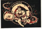 Vince Ray Sticker - Piston Girl