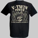 King Kerosin T-Shirt - V.Twin Power