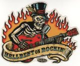 Vince Ray Sticker - Hellbent on Rockin`