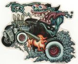 BigToe Sticker - Monster Burnout