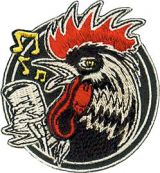 Patch - Rockabilly Rooster