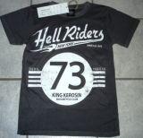 King Kerosin Vintage T-Shirt - Hell Riders New York / grau