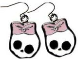 Earring Skully - Rosa