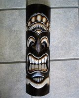 Tikis Woodie Sign / medium- Tiki Nr.17
