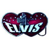 Buckle B-Elvis Double Heart