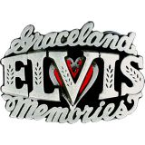 Buckle B-Elvis Graceland Memories