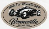 Rumble 59 Sticker - Bonneville
