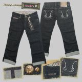 Queen Kerosin 7/8 Denim - denim 3a