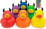 Colorful small Devil Duckie`s