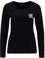Langarm-Shirt von Queen Kerosin - Hot Wheels / schwarz