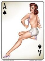 Large Pin up Sticker / St-JA463